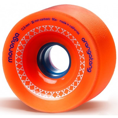 Moronga Freeride Longboard Wheels - Orange