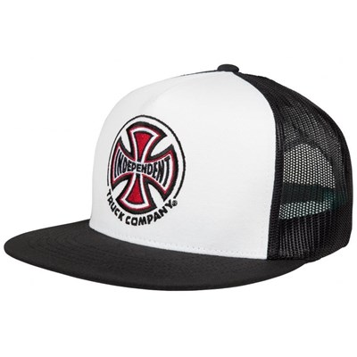 Truck Co Mesh Cap - White/Black