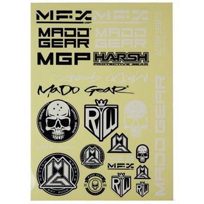 MGP Logos Sticker Sheet