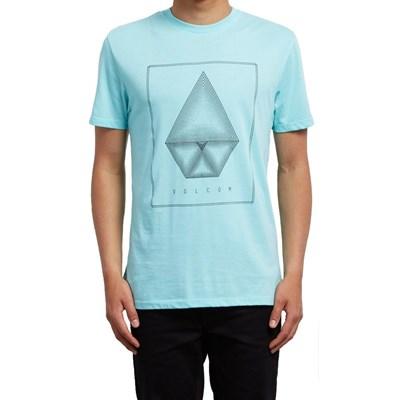 Concentric S/S T-Shirt - Pale Aqua
