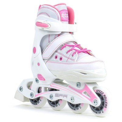 Camden II (RS530) White/Pink Recreational Inline Skates