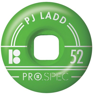 Ladd Pro Spec Skateboard Wheels - Green 52mm