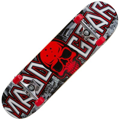 Pro Series Grittee Red Complete Skateboard