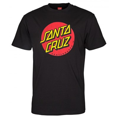 Classic Dot S/S T-Shirt - Black