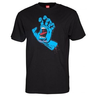 Screaming Hand S/S T-Shirt - Black