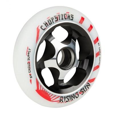 Rising Sun Aluminium Hub Scooter Wheel - White/Black