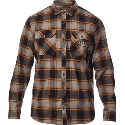 Traildust Flannel L/S Shirt - Heather Graphite