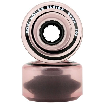 Juicy 65mm/78a Roller Skate Wheels - Pink Frost