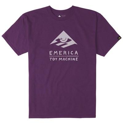 Emerica x Toy Machine S/S T-Shirt - Purple
