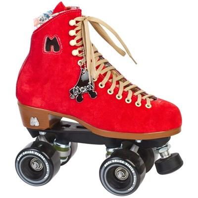 Lolly Quad Roller Skates - Poppy Red