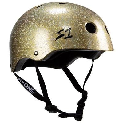 Lifer Helmet - Double Gold Glitter