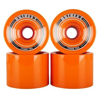 Fly Longboard 72mm Wheels - Orange