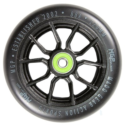 MFX Syndicate AR120 Scooter Wheels (Pair) - Black/Black