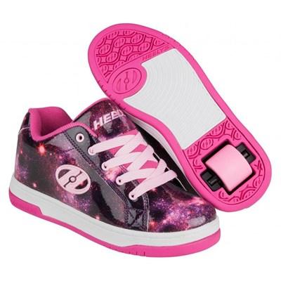 Split Berry/Galaxy Kids Heely Shoe
