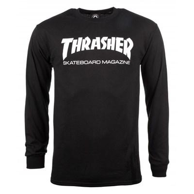 Skate Mag L/S T-Shirt - Black