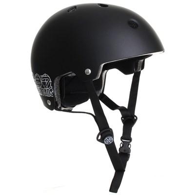 187KP Certified Skate/BMX Helmet - Matte Black