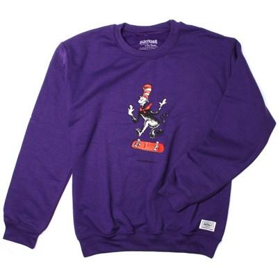 Dr Seuss Cat Tre Crew - Purple
