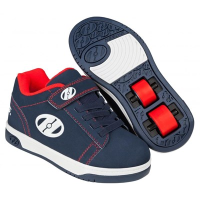 Dual Up Navy/Red/White Kids Heely X2 Shoe