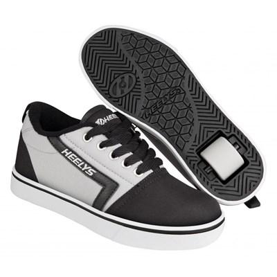 GR8 Pro Black/Grey Kids Heely Shoe