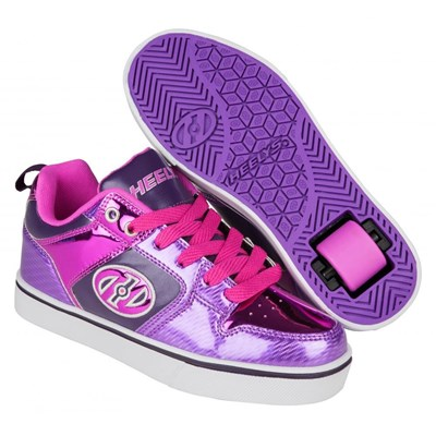 Motion Plus Purple/Pink Shimmer/Grape Heely Shoe