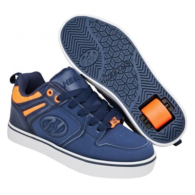 Motion 2.0 Navy/Neon Orange Heely Shoe