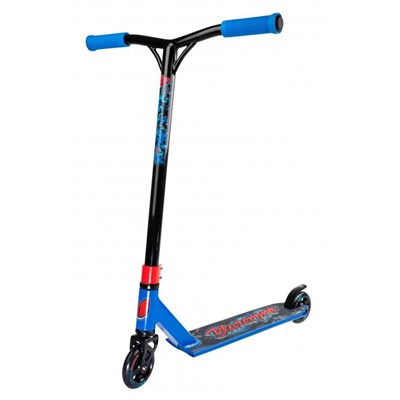 Distortion 2 Series Complete Stunt Scooter - Blue/Red