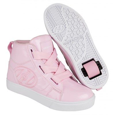 High Line Light Pink Patent Heely Shoe
