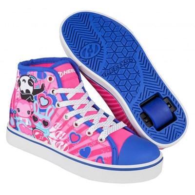 Veloz Pink/Purple/Character Kids Heely Shoe