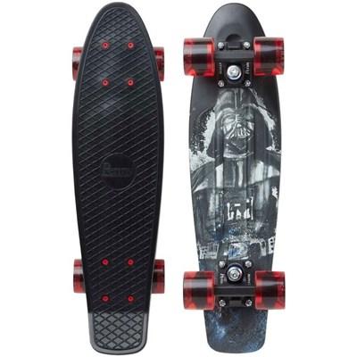 Complete 22inch Plastic Skateboard - Star Wars Darth Vader