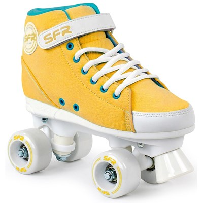 Vision Sneaker Kids Quad Roller Skates - Mustard