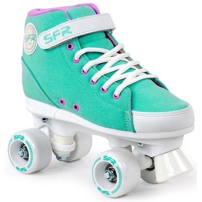 Image of Vision Sneaker Kids Quad Roller Skates - Green