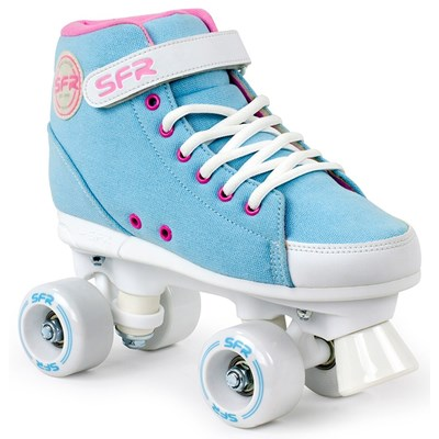 Vision Sneaker Kids Quad Roller Skates - Sky Blue