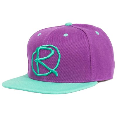 Rampworx Snapback LE 97.2 Cap Purple/Purple/Teal