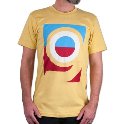 Logo S/S Fitted T-Shirt - Yellow