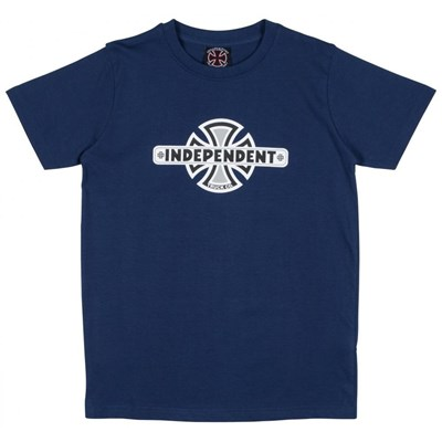 Vintage Cross Youths S/S T-Shirt - Navy