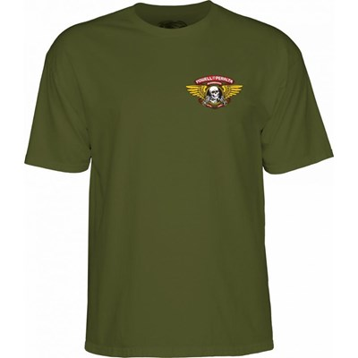 Winged Ripper S/S T-Shirt - Military Green