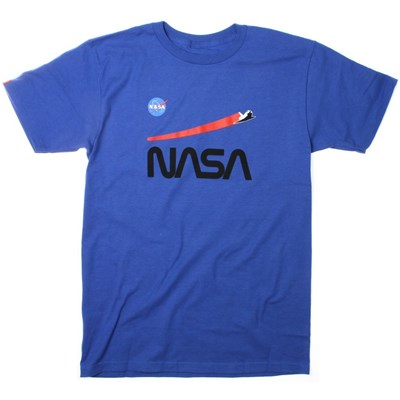 NASA Shuttle Flight S/S T-Shirt - Royal Blue