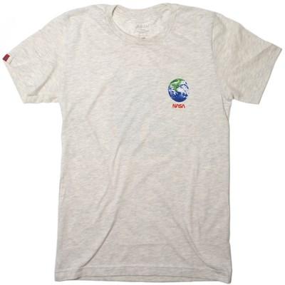 NASA Earth Observer S/S T-Shirt - Tan Heather