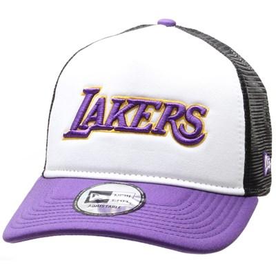 Colour Block Trucker Cap - LA Lakers