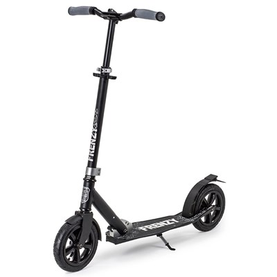 205mm Pneumatic Plus Scooter - Black FR205PP