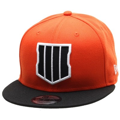Call Of Duty BO4 9FIFTY Snapback - Orange/Black