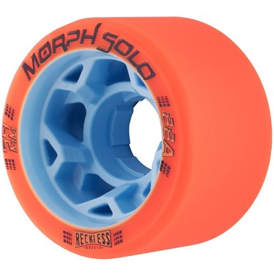 Morph Solo 59mm 88A Roller Derby Skate Wheels - Orange
