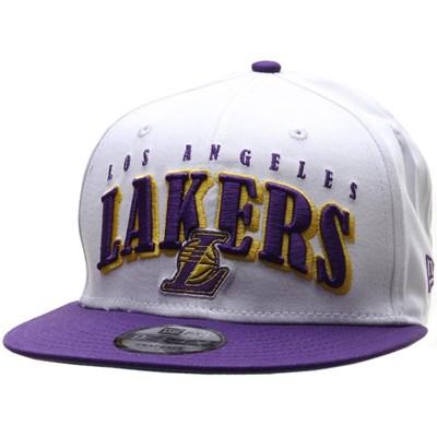 NBA Retro Pack Team Wordmark 9FIFTY Snapback - LA Lakers