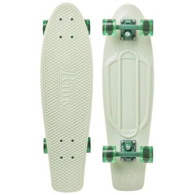 Complete Nickel 27inch Plastic Skateboard - Sage