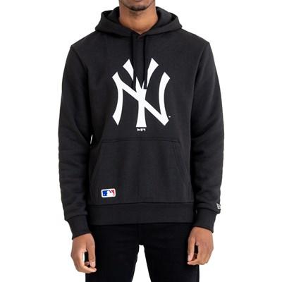 MLB Team Logo Pullover Hoody - New York Yankees Black