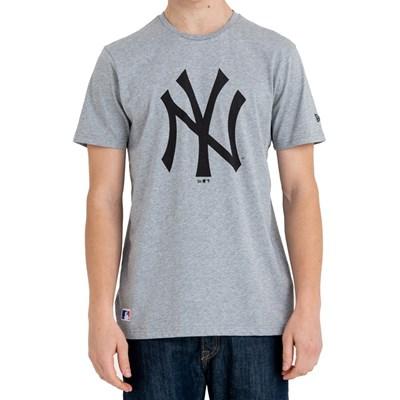 Team Logo S/S T-Shirt - New York Yankees Grey