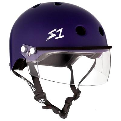 Lifer Helmet inc Visor - Purple Matt