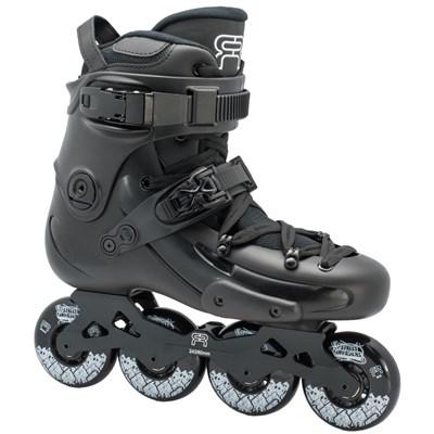 FR1 80 Inline Skates - Black/Black