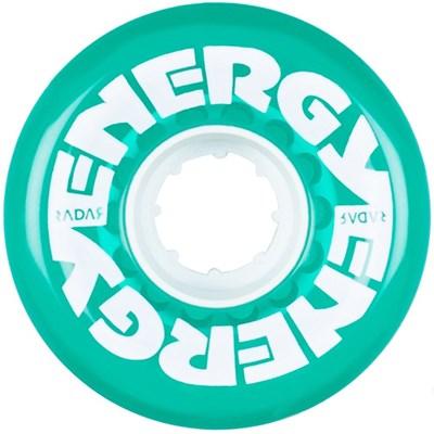 Energy 62 - 62mm/78a Roller Skate Wheels - Clear Green