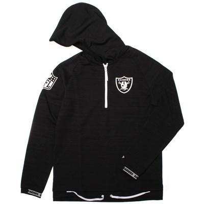 NFL Engineered Half Zip Hoody - Oakland Raiders